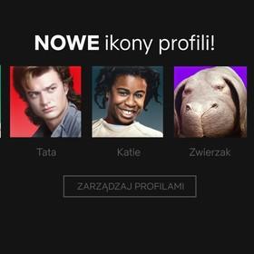 Nowe ikony profilowe na Netflix