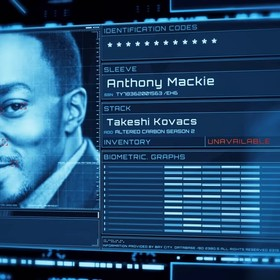 Anthony Mackie w Altered Carbon