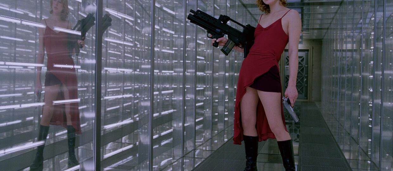 kadr z filmu Resident Evil