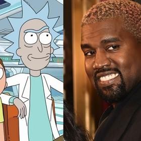 Kanye; Rick i Morty