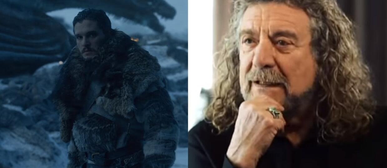 Jon Snow Robert Plant