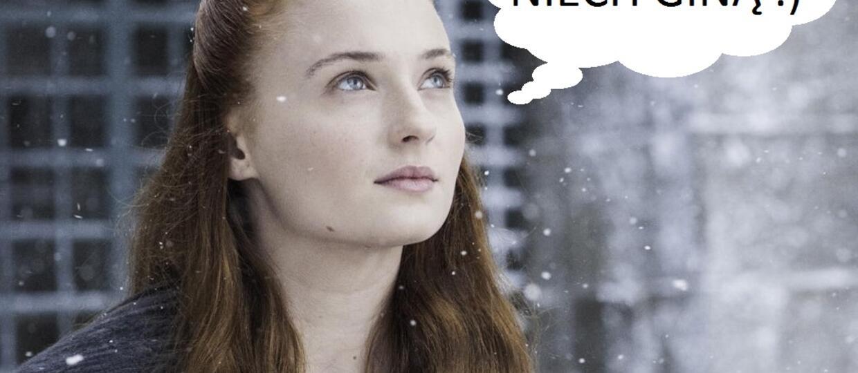 """Sophie Turner: Nie wszyscy dożyją 8. sezonu """"Gry o tron"""""""