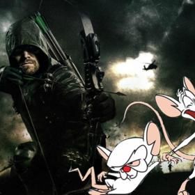 Green Arrow oraz Pinky i Mózg