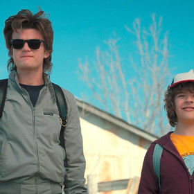 Steve i Dustin w 2. sezonie Stranger Things