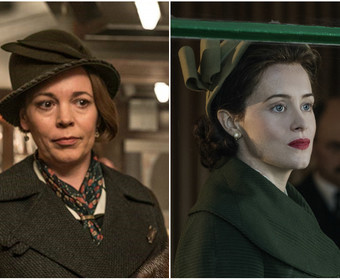 Olivia Colman Claire Foy