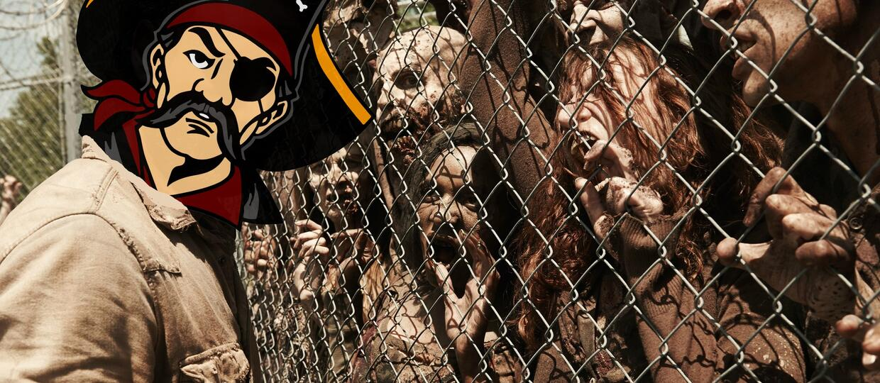 """The Walking Dead"" walczy z piratami"