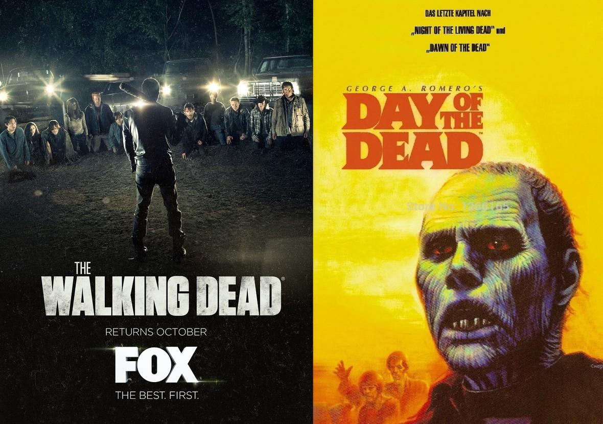 """""""The Walking Dead"""" złożył hołd George'owi Romero"""