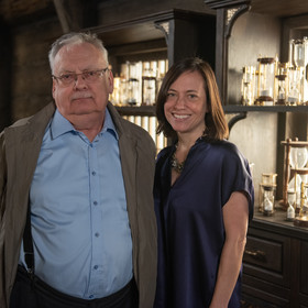 Andrzej Sapkowski i Lauren Schmidt Hissrich