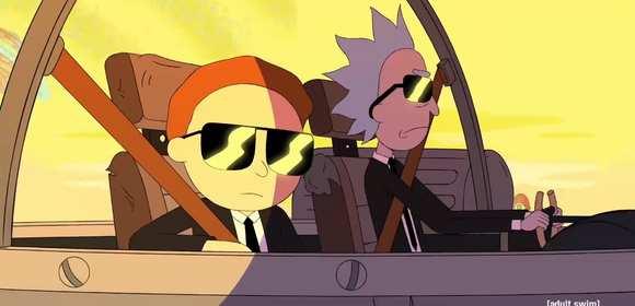 Rick i Morty w klipie Run the Jewels