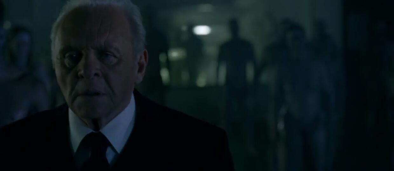 """Anthony Hopkins w zapowiedzi serialu """"Westworld"""" od HBO"""