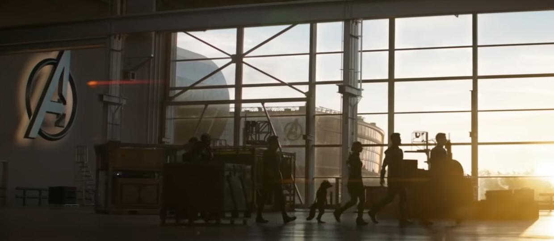 kadr z filmu Avengers Endgame