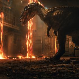 Kadr z filmu Jaurassic World: Upadłe Królestwo
