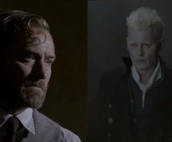 Dumbledore i Grindelwald Fantastyczne Zwierzęta 2 trailer