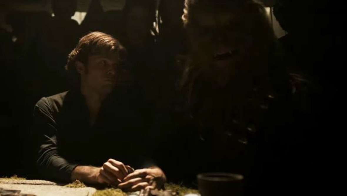 Han Solo i Chewbacca