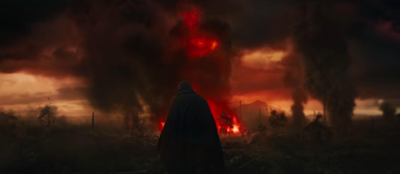 kadr z filmu Tolkien