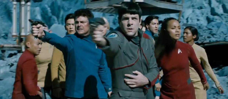"""Kapitan Kirk powraca w zwiastunie """"Star Trek: W nieznane"""""""