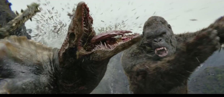 King Kong kontra potwory na Wyspie Czaszki w zwiastunie filmu