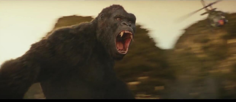 King Kong na Wyspie Czaszki w zwiastunie filmu