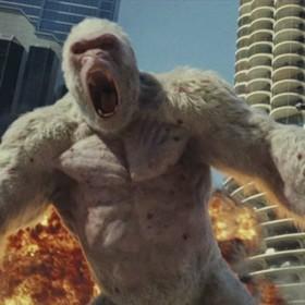 """Latający wilk w drugim zwiastunie filmu """"Rampage"""""""