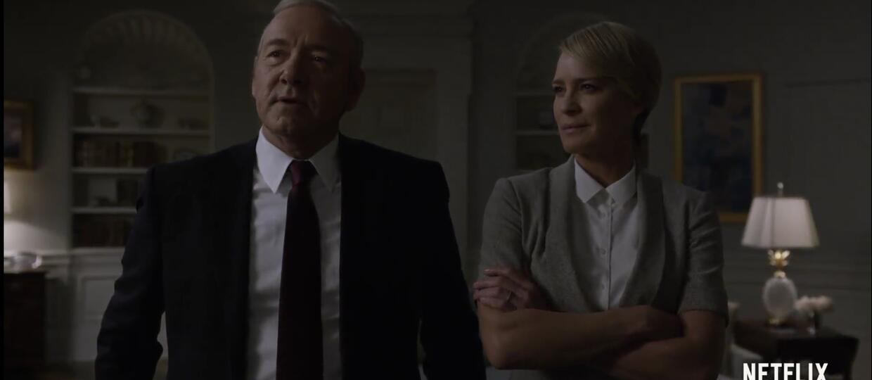 """Naród pod władzą Underwoodów w zwiastunie 5. sezonu """"House of Cards"""""""