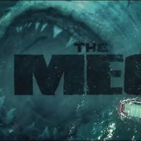 The Meg - megalodon atakuje łódź