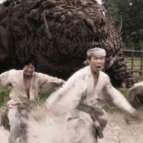 """Potwór kajiu kontra jednooki samuraj z feudalnej Japonii, czyli zapowiedź filmu """"Koujin"""""""