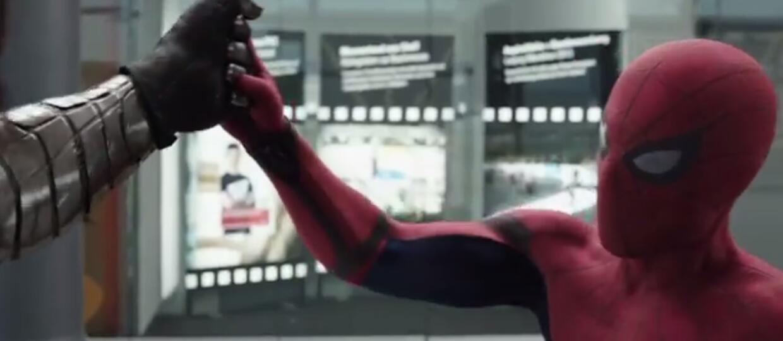 """Spider-Man w telewizyjnych spotach """"Kapitana Ameryki: wojny bohaterów"""""""