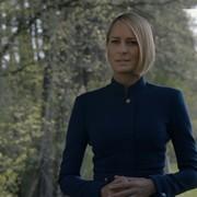 """Triumfująca Claire Underwood nad grobem Franka w teaserze """"House of Cards 6"""""""