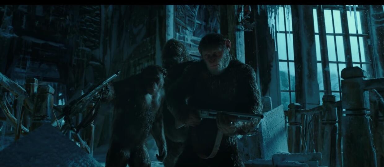 """Trwa """"Wojna o planetę małp"""" w zwiastunie filmu"""