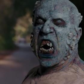 """Foto: kadr ze zwiastuna filmu """"Zombie Tidal Wave"""""""