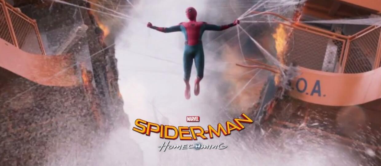 "Zobacz 1. zwiastun ""Spider-Man: Homecoming"""