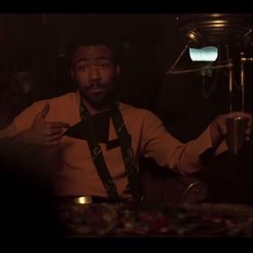 Donald Glover jako Lando w Solo: A Star Wars Story