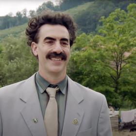"""Borat zabiera swoją córkę do kliniki aborcyjnej w nowym klipie z filmu """"Borat 2"""""""