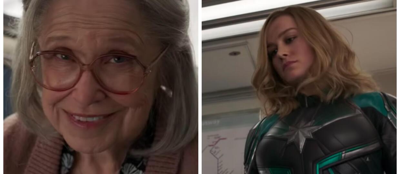 Czemu Kapitan Marvel pobiła staruszkę?