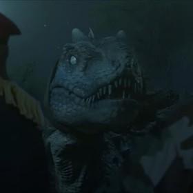 """Dinozaury biją się z zombie w absurdalnym zwiastunie filmu """"Jurassic Thunder"""""""