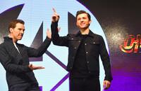 Benedict Cumberbatch i Tom Holland