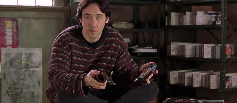 John Cusack w filmie Przeboje i podboje (High Fidelity)
