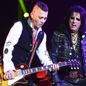 Johnny Depp i Alice Cooper