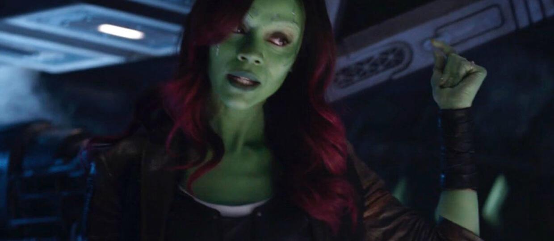 """Nowa usunięta scena z """"Avengers: Infinity War"""" przybliża relację Thanosa i Gamory"""
