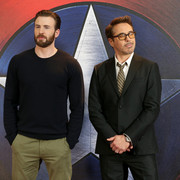 Chris Evans i Robert Downey Jr.