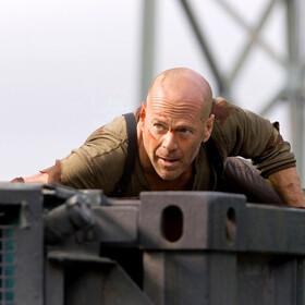 Bruce Willis  - kadr z filmu Live Free Or Die Hard