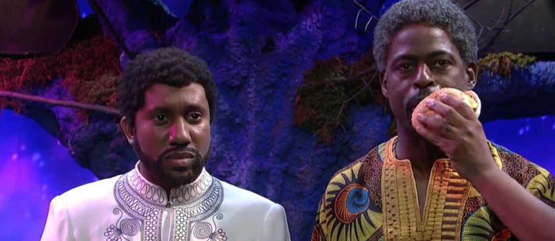 """T'Challa poznaje swojego wujka, czyli """"usunięta"""" scena z """"Black Panther"""" w SNL"""