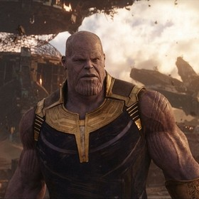 """Thanos miał dosiadać wielkiego mrocznego nietoperza w """"Avengers: Infinity War"""""""