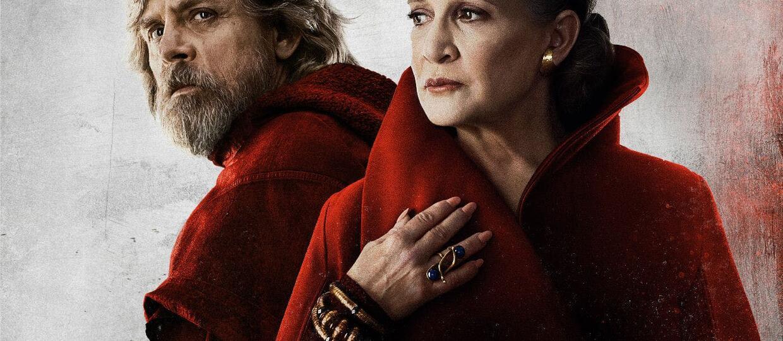 Luke Skywalker i Leia Organa