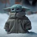 Baby Yoda - kadr z serialu The Mandalorian