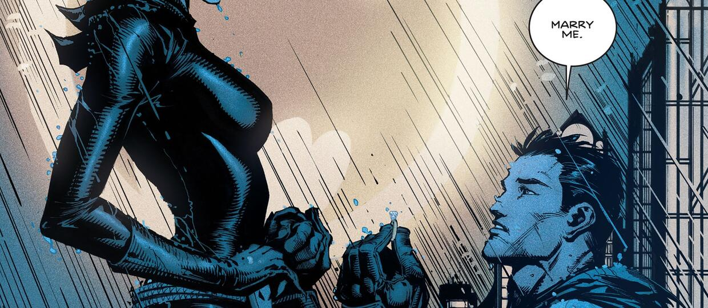 Ślub Batmana i Catwoman