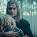 Geralt przytulający Ciri