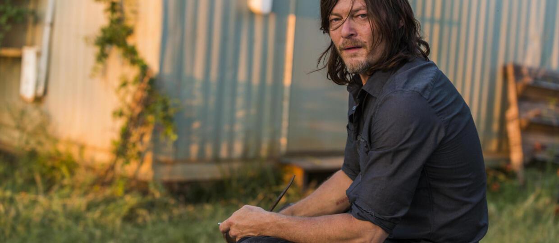 """Norman Reedus obiecał, że """"spali plan zdjęciowy The Walking Dead"""", jeżeli zginie jego postać"""