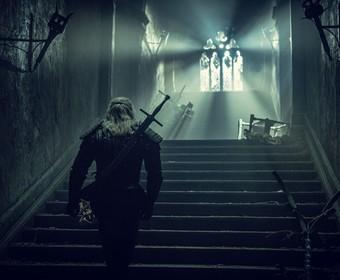 Geralt w Wiedźminie