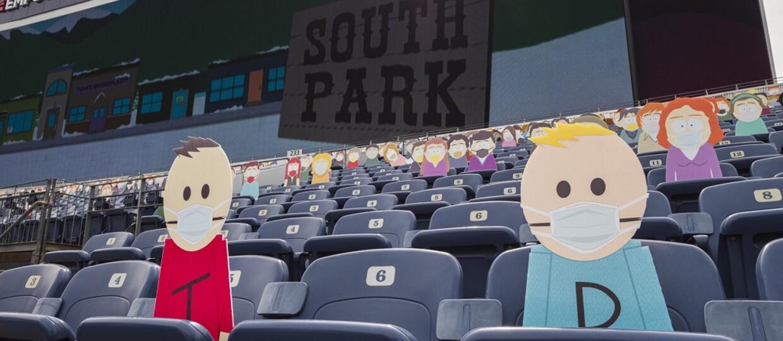 Wszyscy mieszkańcy South Park pojawili się na meczu w Denver